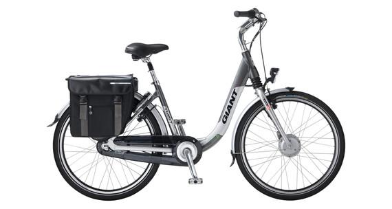 Giant Twist Elegance Double Elcykel grå - till fenomenalt pris på Bikester